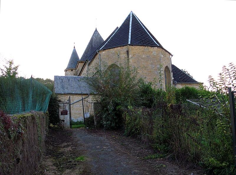 Photo du Monument Historique Eglise de Servion situé à Rouvroy-sur-Audry