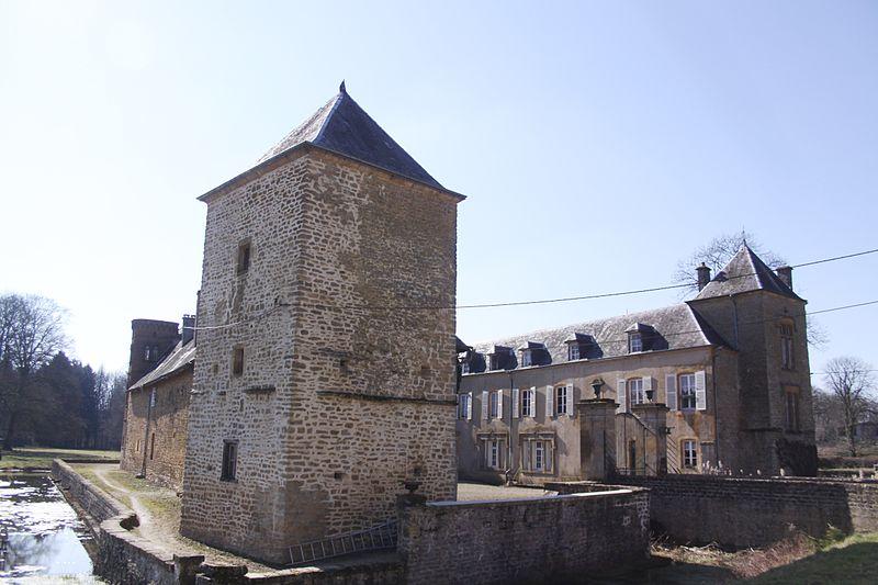 Photo du Monument Historique Château de Lamecourt situé à Rubécourt-et-Lamécourt