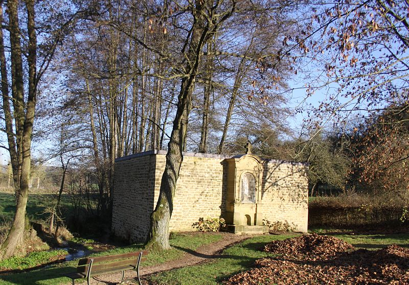 Photo du Monument Historique Lavoir Saint-Aignan situé à Saint-Aignan