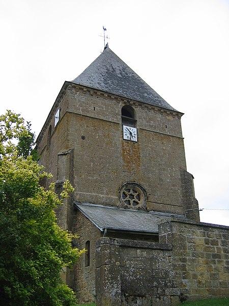 Photo du Monument Historique Eglise situé à Saint-Pierremont