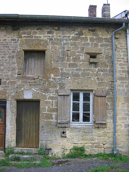 Photo du Monument Historique Maison natale de Dom Mabillon situé à Saint-Pierremont