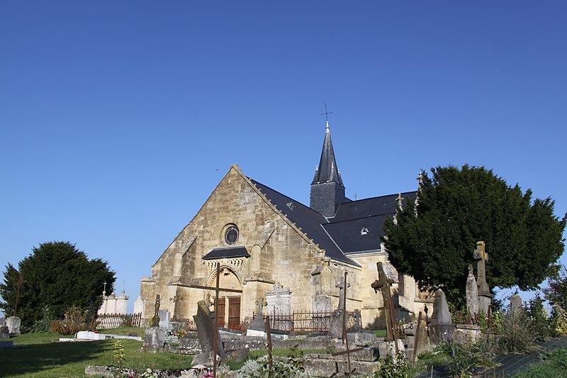 Photo du Monument Historique Eglise Saint-Juvin situé à Sainte-Vaubourg