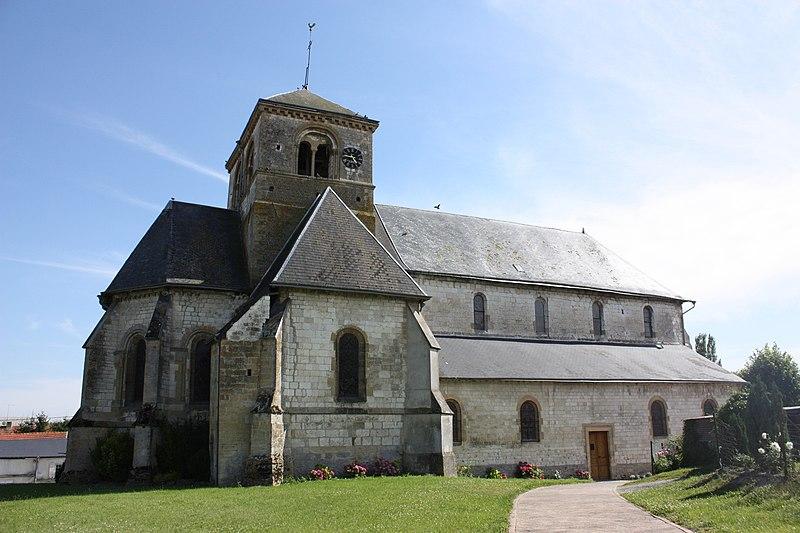 Photo du Monument Historique Eglise Saint-Crépin Saint-Crépinien situé à Saulces-Champenoises
