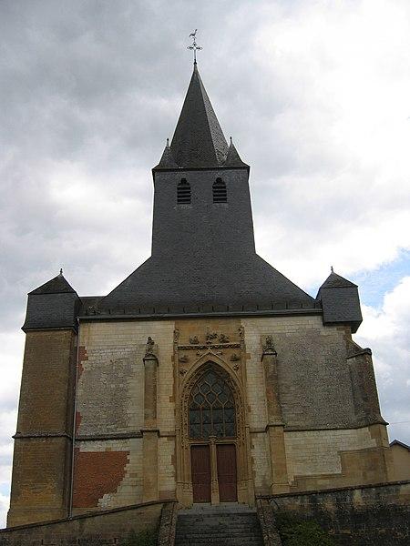 Photo du Monument Historique Eglise situé à Savigny-sur-Aisne