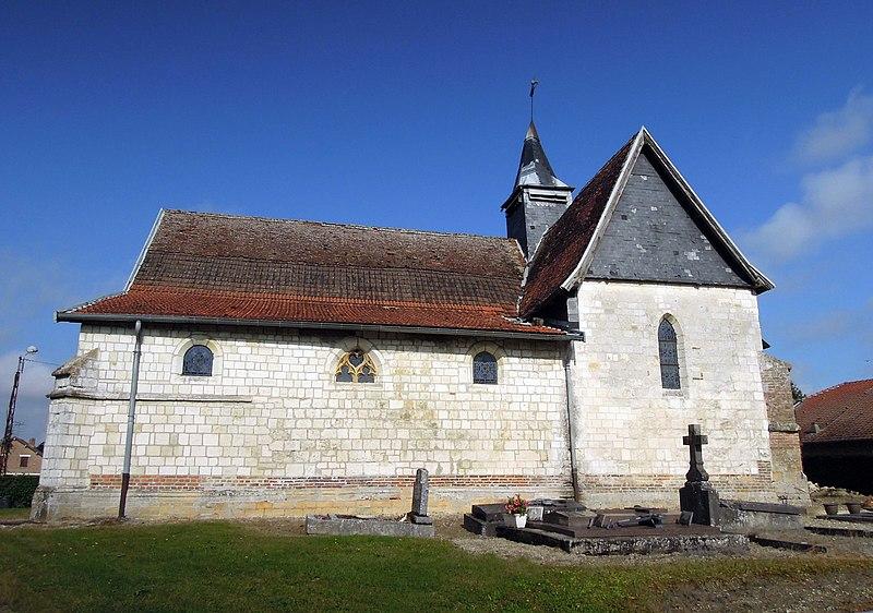 Photo du Monument Historique Eglise situé à Séchault