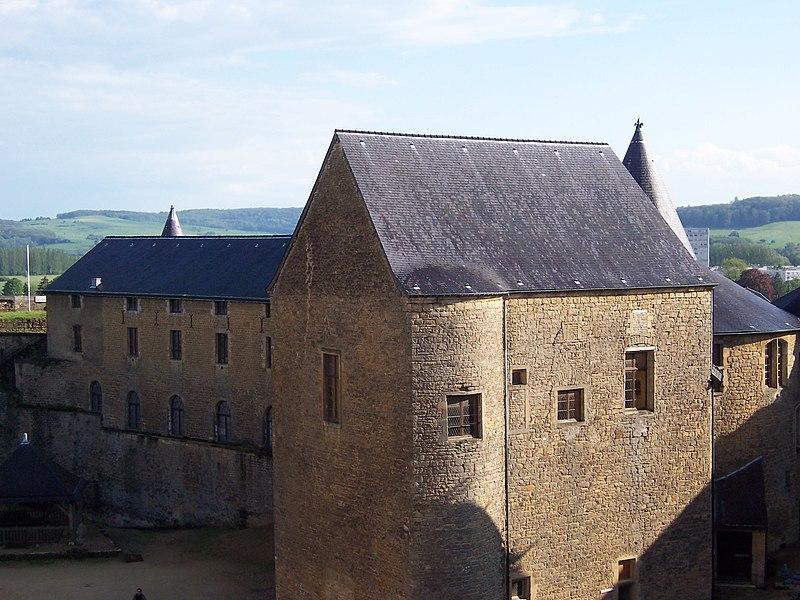 Photo du Monument Historique Château-haut situé à Sedan