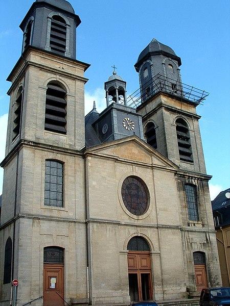 Photo du Monument Historique Eglise Saint-Charles-Borromée situé à Sedan