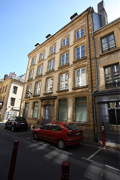 Photo du Monument Historique Immeuble situé à Sedan
