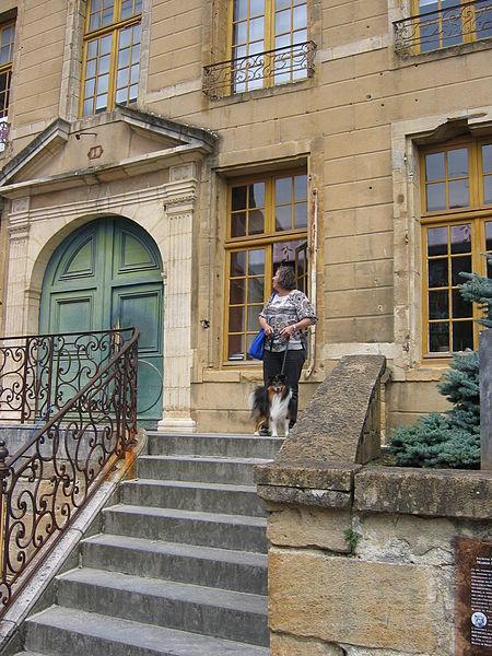 """Photo du Monument Historique Maison dite """"du Gros Chien"""" situé à Sedan"""