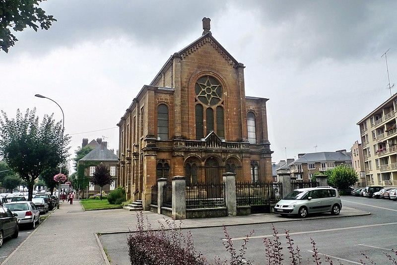 Photo du Monument Historique Synagogue situé à Sedan