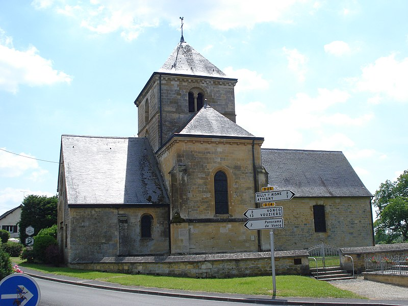 Photo du Monument Historique Eglise situé à Semuy