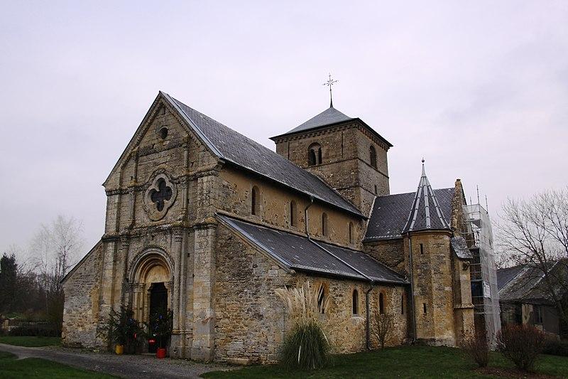 Photo du Monument Historique Eglise situé à Sorcy-Bauthémont