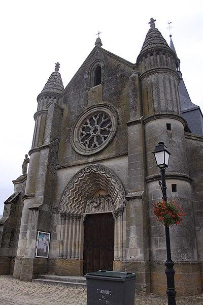 Photo du Monument Historique Eglise situé à Tagnon