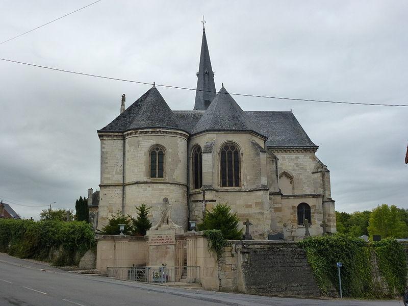 Photo du Monument Historique Eglise situé à Thugny-Trugny