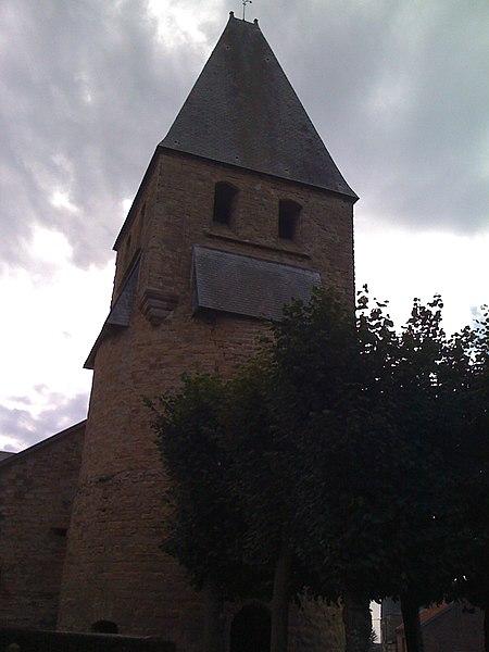 Photo du Monument Historique Eglise situé à Tournes