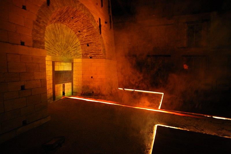 Photo du Monument Historique Ancien haut-fourneau situé à Vendresse
