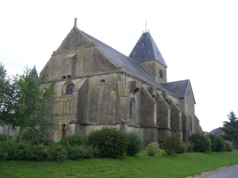 Photo du Monument Historique Eglise situé à Verpel