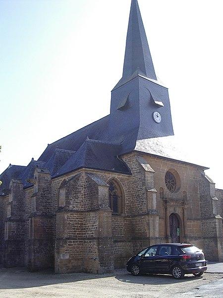 Photo du Monument Historique Eglise Saint-Pierre situé à Villers-Semeuse