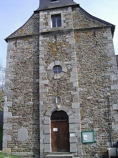 Photo du Monument Historique Eglise de Mochain situé à Vireux-Molhain