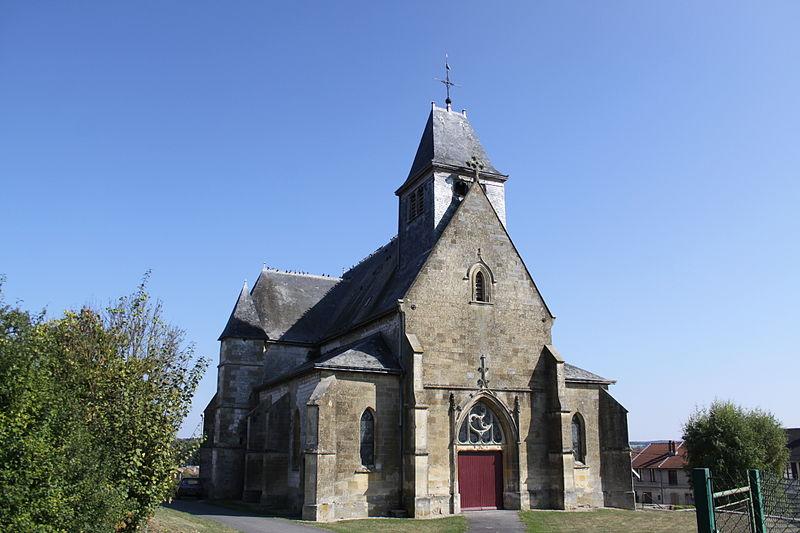 Photo du Monument Historique Eglise situé à Vrizy
