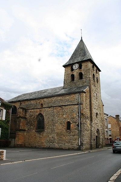 Photo du Monument Historique Eglise situé à Warcq