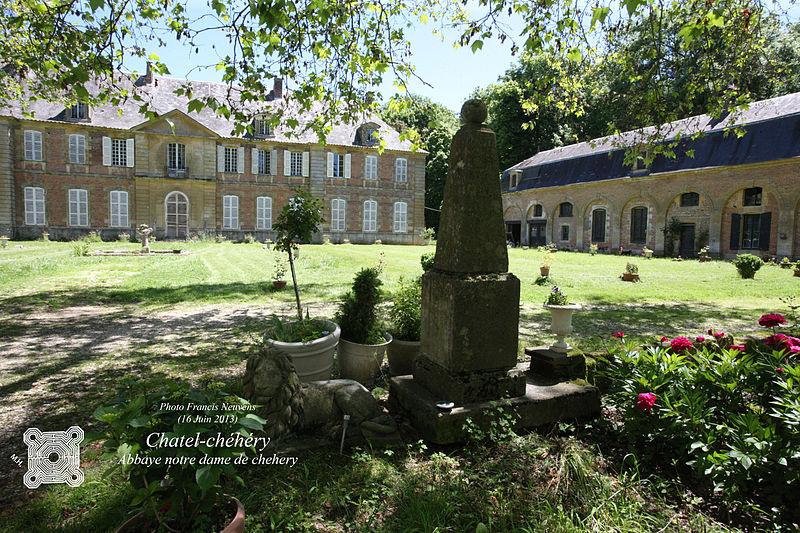 Photo du Monument Historique Ancienne abbaye de Chéhéry situé à Chatel-Chéhéry