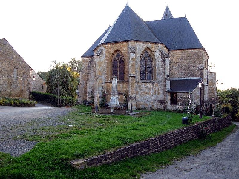 Photo du Monument Historique Eglise situé à Remilly-les-Pothées