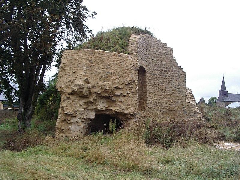 Photo du Monument Historique Ancien château de Lumes situé à Lumes