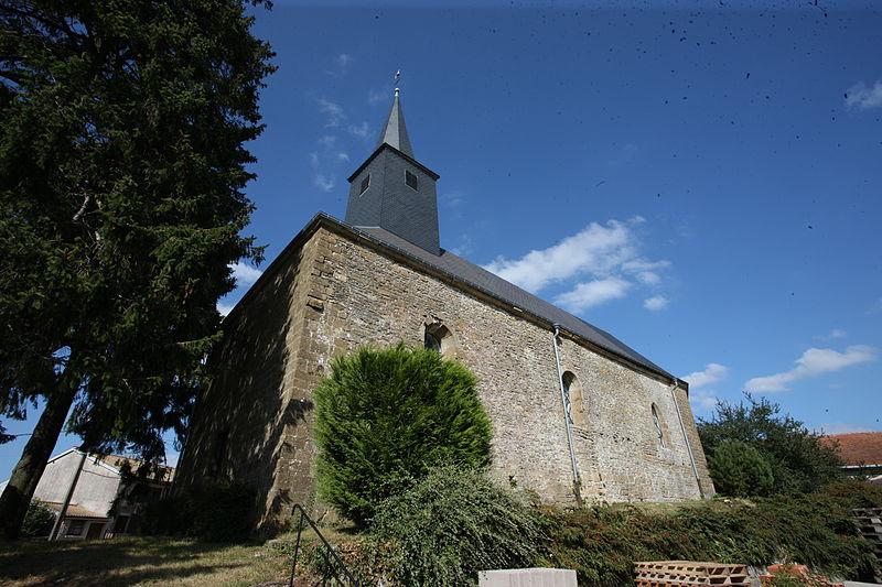 Photo du Monument Historique Eglise Saint-Nicolas de Fossé situé à Fossé