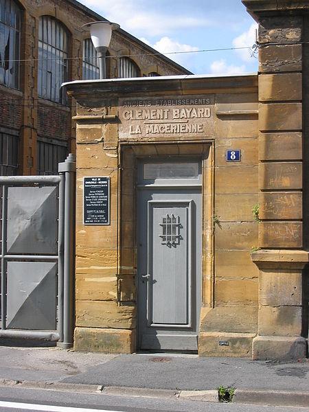 """Photo du Monument Historique Ancienne usine métallurgique """" La Macérienne """" situé à Charleville-Mézières"""