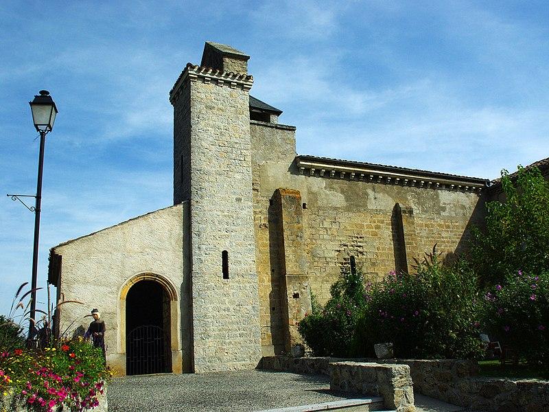 Photo du Monument Historique Eglise situé à Bénac