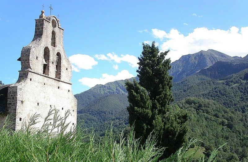 Photo du Monument Historique Eglise Saint-Michel d'Ayet situé à Bethmale