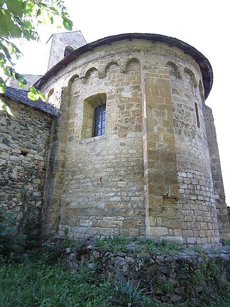 Photo du Monument Historique Eglise Saint-Pierre d'Ourjout situé à Les Bordes-sur-Lez