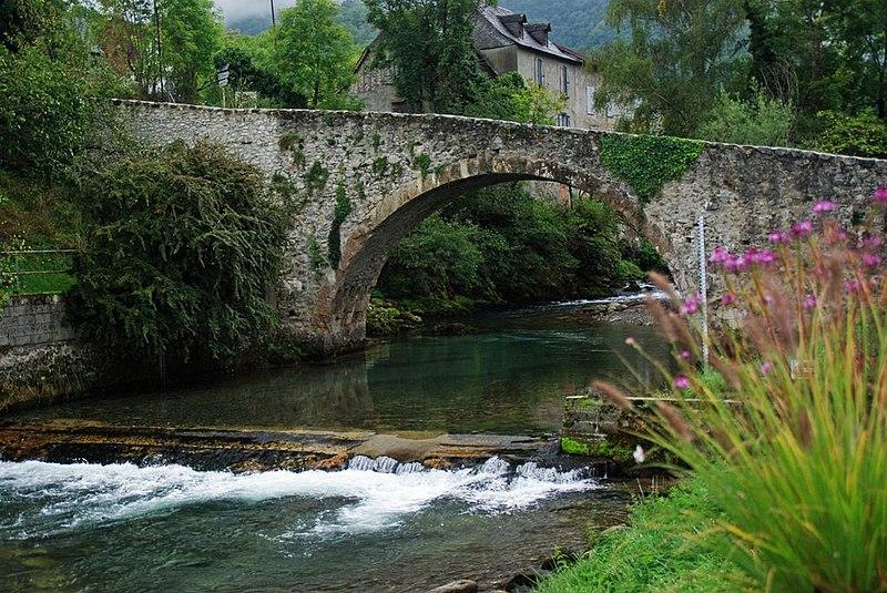 Photo du Monument Historique Pont situé à Les Bordes-sur-Lez