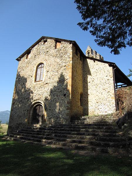 Photo du Monument Historique Chapelle du Calvaire ou église Saint-Pierre situé à Castillon-en-Couserans