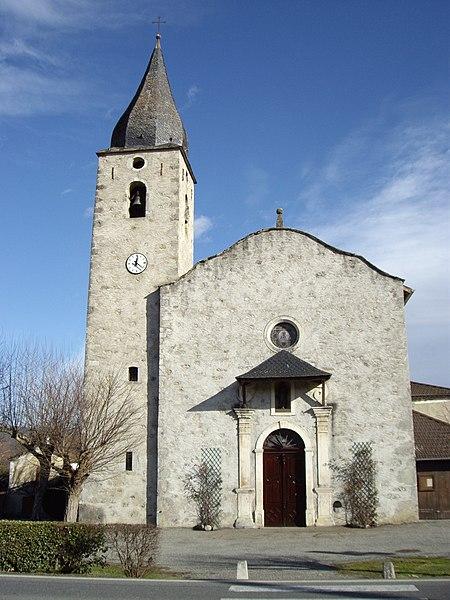 Photo du Monument Historique Eglise situé à Caumont