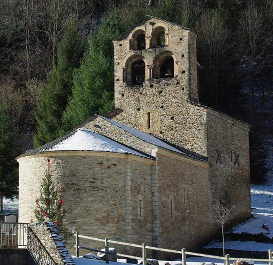 Photo du Monument Historique Eglise de Salau situé à Couflens