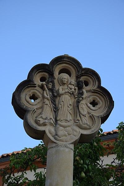 Photo du Monument Historique Croix en pierre situé à Daumazan-sur-Arize