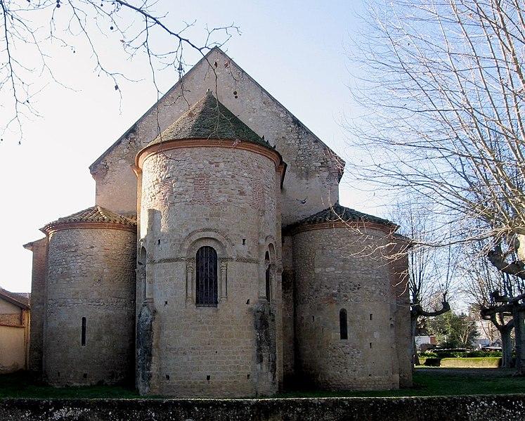Photo du Monument Historique Eglise situé à Daumazan-sur-Arize