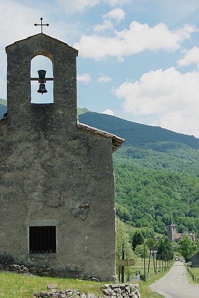 Photo du Monument Historique Ancienne chapelle Saint-Pierre situé à Ercé