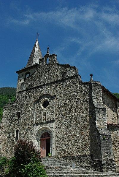 Photo du Monument Historique Eglise de l'Assomption situé à Ercé
