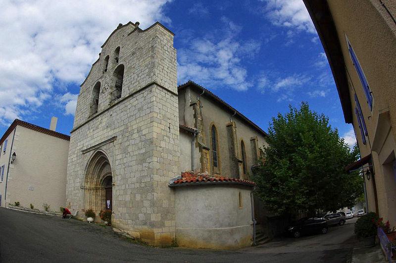 Photo du Monument Historique Eglise situé à Fabas