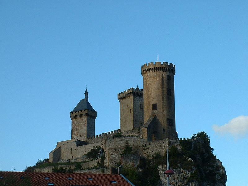 Photo du Monument Historique Château situé à Foix