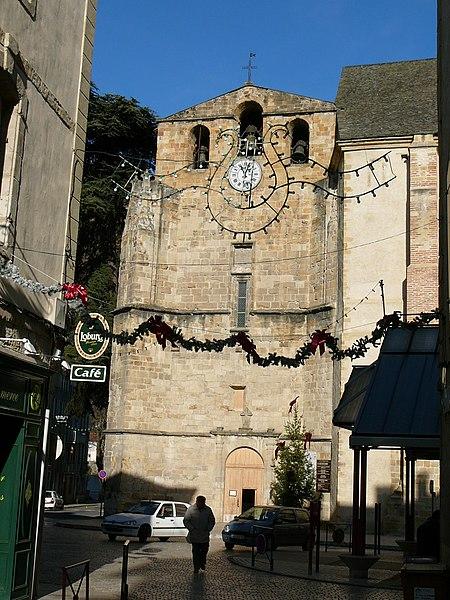 Photo du Monument Historique Eglise Saint-Volusien situé à Foix