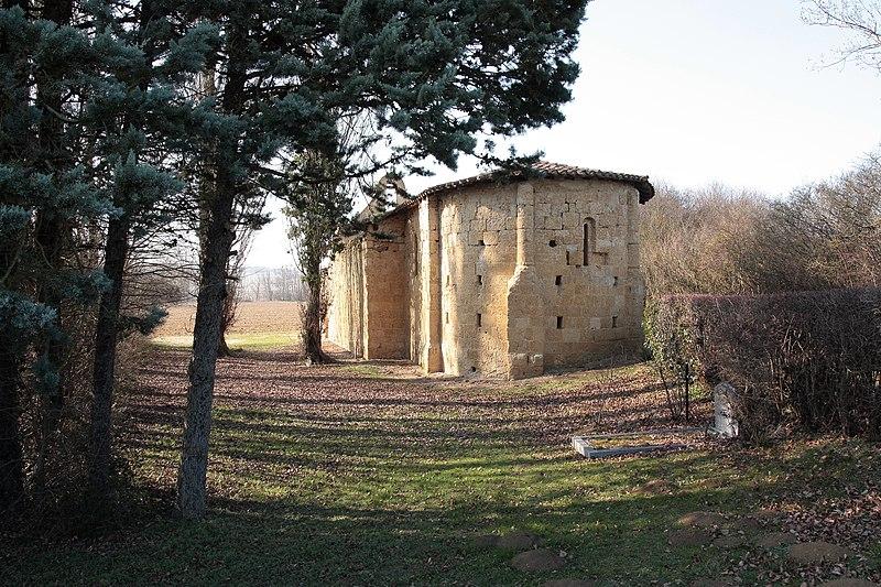 Photo du Monument Historique Chapelle Saint-André situé à Fossat (Le)