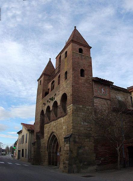 Photo du Monument Historique Eglise situé à Fossat (Le)