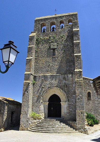 Photo du Monument Historique Eglise situé à Lapenne