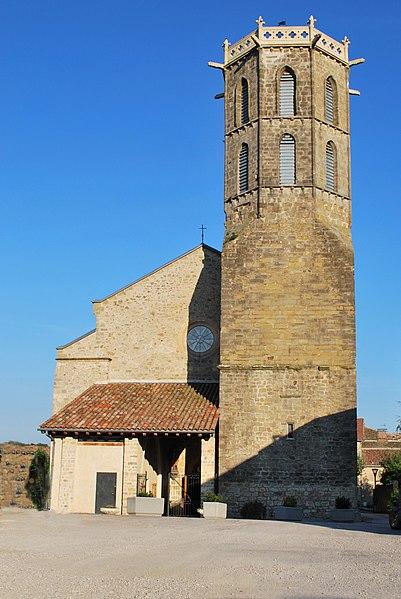 Photo du Monument Historique Eglise du Saint-Sacrement situé à Laroque-d'Olmes