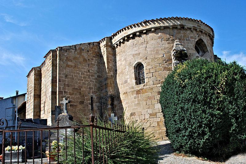 Photo du Monument Historique Chapelle du cimetière de Bensa situé à Lavelanet