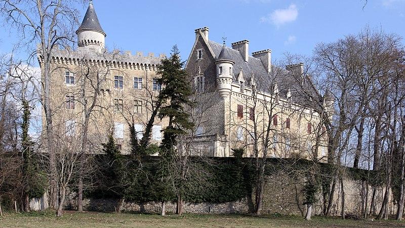 Photo du Monument Historique Château de Léran situé à Léran